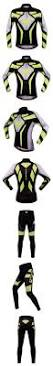 cycling suit jacket wosawe men cycling suit jersey mtb clothing set long sleeve