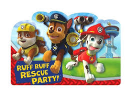 Mcdonalds Invitation Card Paw Patrol Party Supplies Sweet Pea Parties