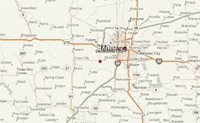 weather in mustang oklahoma mustang location guide