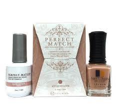 perfect match colors amazon com lechat perfect match gel polish nude beach 0 5 ounce