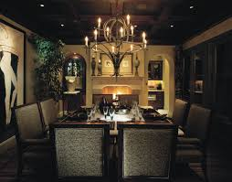medieval brass dining room chandelier lighting fixtures in a