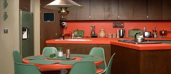 retro tv kitchen the brady bunch