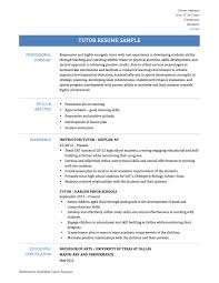 Tutor Resume Example by Math Tutor Resume Sample Free Resume Example And Writing Download