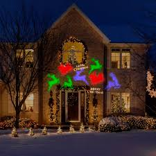 Light Flurries Snowflake Projector by Gemmy Lightshow Projection Whirl A Motion Christmas Lights