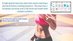 fitness personal trainer business plan