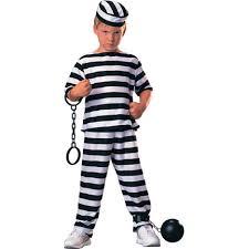 boy costumes prisoner boy costume kids prisoner costumes