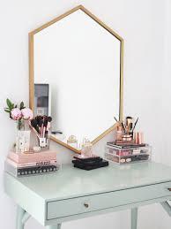 rose gold vanity table dressing table ideas vanity set up room best 25 tables on pinterest