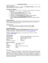 resume for university sle download performance test engineer sle resume