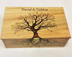 personalized wooden boxes maple box etsy
