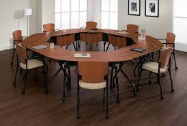 Circle Meeting Table Modular Conference Room Tables Virginia Maryland Dc Modular