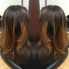 redlands hair stylist dark ash brown base gray coverage with