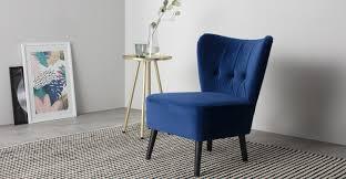 furniture home mid century upholstered dining chair velvet 2 c