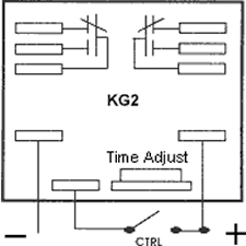 chassis mount relay timer