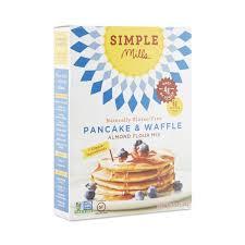 Pancake Flour Almond Flour Pancake U0026 Waffle Mix By Simple Mills Thrive Market