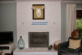 some like a project how we built a floating fireplace mantel
