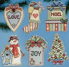 sew inspiring cross stitch decorations