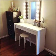Small Makeup Desk Makeup Desk With Mirror White Vanity Table Jewelry Makeup Desk And