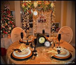 New Year S Eve Dinner Decoration by New Year U0027s Tablescapes And Table Settings