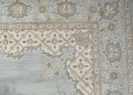 Handmade Wool Rug Blue Wool Rug 8x10 Handmade Beige Floral 8x10 Rug For Chic Floor