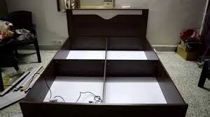 Zuari Bedroom Sets Unboxing U0026 Assembly Of The Kosmo Bed From Pepperfry Youtube