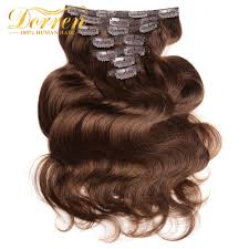 4 Piece Clip In Hair Extensions by Popular Brazilian Hair 4 Piece Sets Buy Cheap Brazilian Hair 4