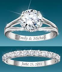 Personalized Wedding Band Romantic Jewelry And Bridal Jewelry