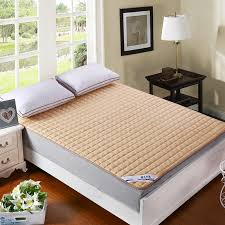 aliexpress com buy multicolor solid quilting mattress cover