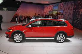 subaru dual exhaust 2017 vw golf alltrack has dual exhaust and red paint like a gti in