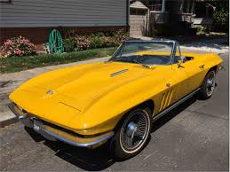 corvette stingray gold classic chevrolet corvette stingray for sale