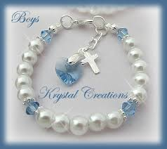 baptism accessories baptism christening bracelet blue candles online shop