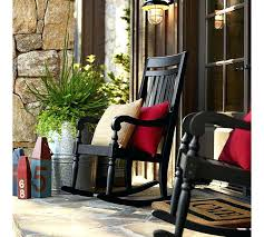 rocking chairs for front porch black porch rocking chairs with red