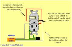 wiring diagram for a 20 amp 120 volt receptacle workshop
