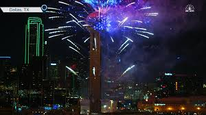 thanksgiving building dallas dallas rings in new year with reunion tower fireworks nbc news