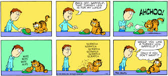 graphics for garfield thanksgiving graphics www graphicsbuzz