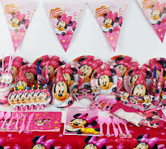 minnie mouse birthday party 78pcs minnie mouse baby birthday party decorations kids evnent party