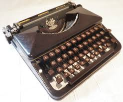 oz typewriter wagenfeld designed cole steel portable typewriter