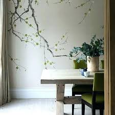dining room wallpaper ideas dining room wallpaper feature wall living room