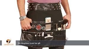 makeup artist belt ladybird line unisex rocker makeup artist tool belt cosmetic pouch