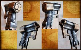 nerf triad steampunk style by killingjarstudios on deviantart
