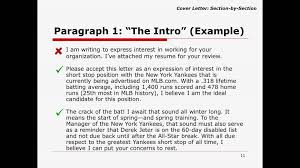 how to write a great cover letter youtube