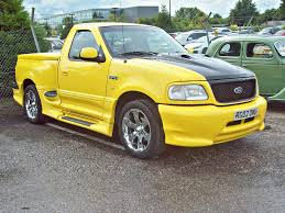 Ford F 150 Yellow Truck - 89 ford f 150 boss 5 4 10th gen pick up truck 2002 flickr