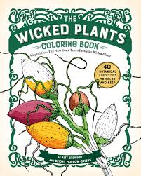 amazon wicked plants coloring book 9781616206833 amy