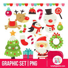 retro cute christmas set totallyjamie svg cut files graphic