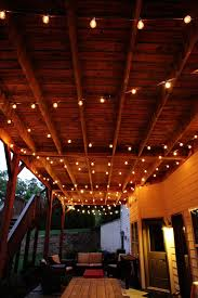 How To String Patio Lights Outdoor Patio Lights Home Depot Brighten Up Your Balcony With
