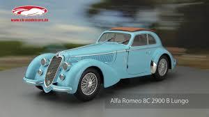 ck modelcars alfa romeo 8c 2900 b lungo baujahr 1938