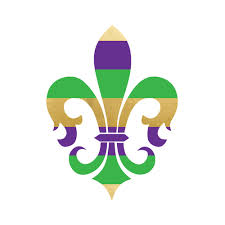 fleur de lis mardi gras mardi gras fleur de lis metallic and colorful flash tattoo