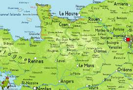 Rennes France Map by Gr223