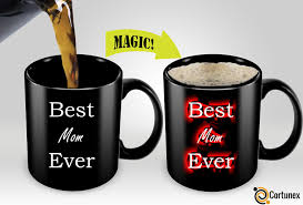 Best Coffee Mug Cortunex Amazing New Heat Sensitive Color Changing Coffee Mug