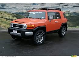 magma orange 2013 toyota fj cruiser 4wd this one
