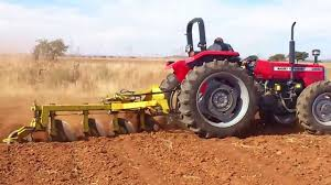 demostracion tractor mf 285 youtube